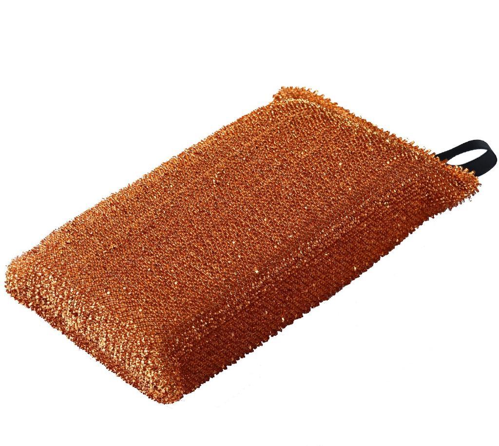 铜强度抗菌沐浴海绵 F8493 [购买 2 件。