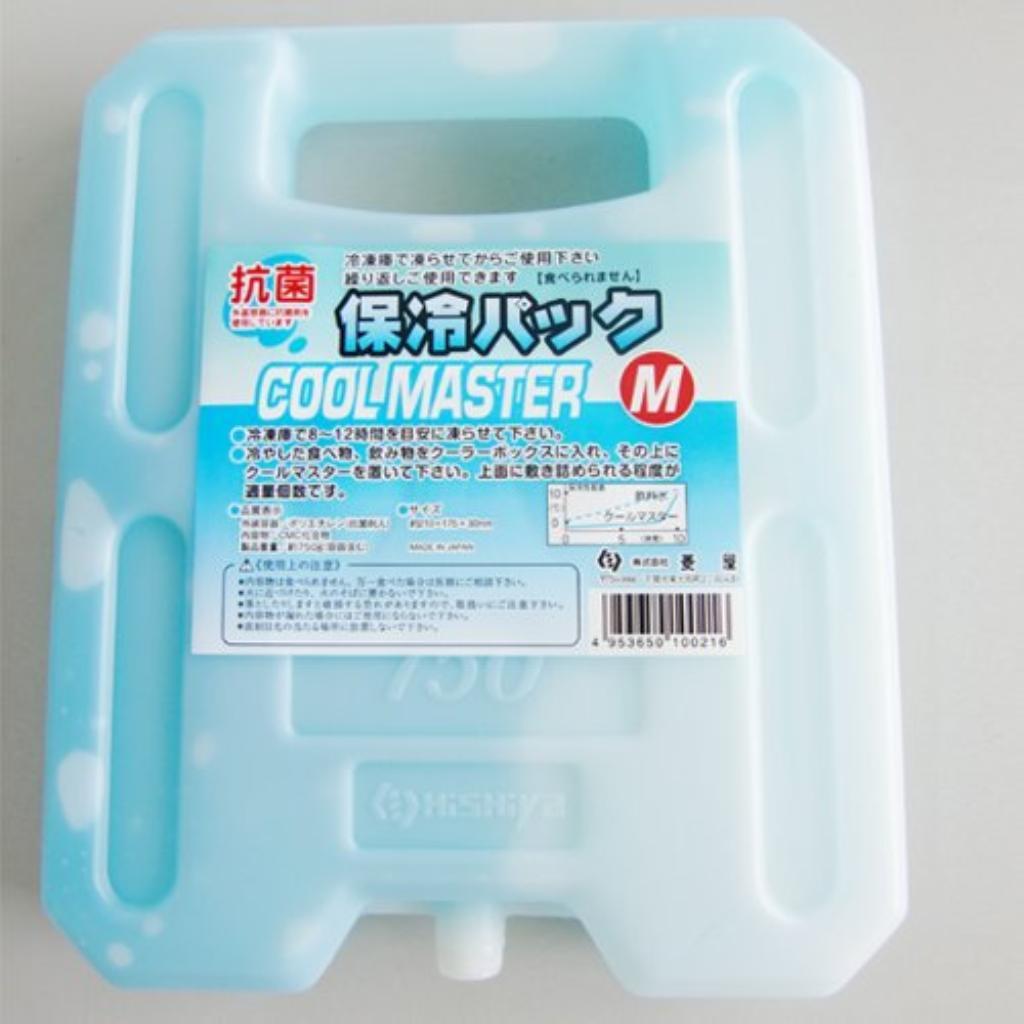 【送料無料】HISHIYA(ヒシヤ) 保冷剤 クールマスター 0度タイプ 750g 〔まとめ買い48個セット〕 【代引不可】