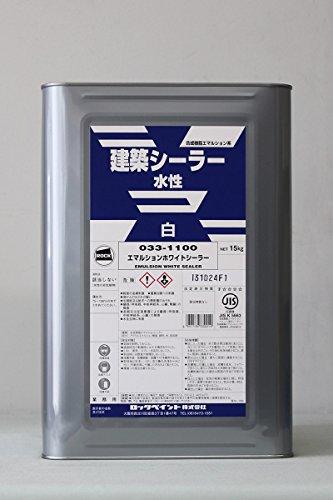 ロック エマルションホワイトシーラー 15Kg 【代引不可】