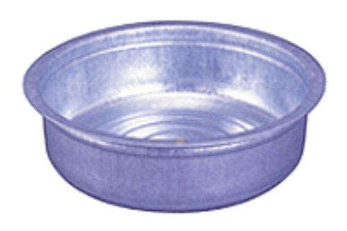 【送料無料】日本製 Japan 土井金属化成 トタンたらい 48cm 〔まとめ買い10個セット〕【代引不可】