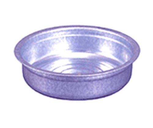 【送料無料】日本製 Japan 土井金属化成 トタンたらい 42cm 〔まとめ買い20個セット〕 【代引不可】