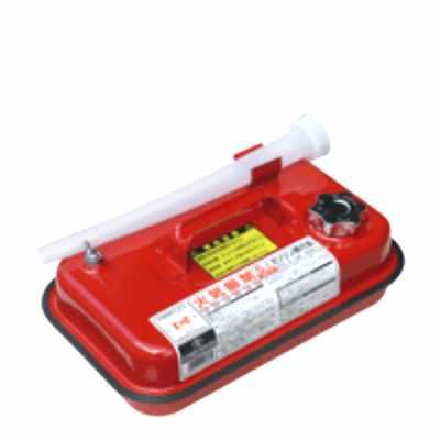 【送料無料】日本製 Japan 土井金属化成 ガソリン携行缶5L GC-5 〔まとめ買い8個セット〕 【代引不可】