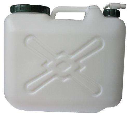 【送料無料】日本製 Japan 北陸土井工業 水缶 MDタンク20L コック付 〔まとめ買い24個セット〕 【代引不可】