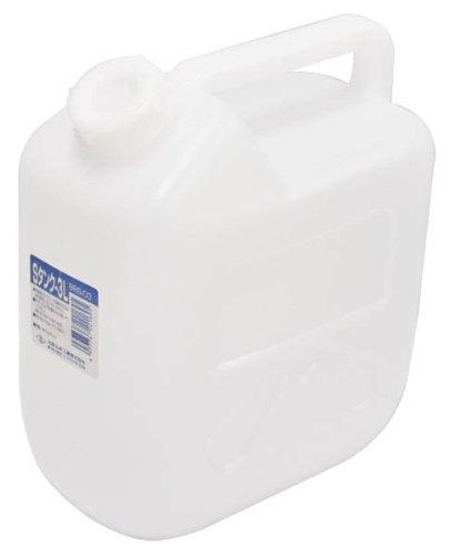 日本製 Japan 北陸土井工業 水缶 Sタンク 3L 〔まとめ買い20個セット〕 【代引不可】【北海道・沖縄・離島配送不可】