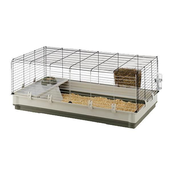 【送料無料】ferplast(ファープラスト) ウサギ用ケージセット クロリック エクストララージ グリーン・57071517【代引不可】