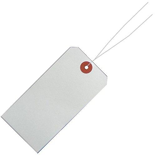 (まとめ買い)リュウグウ 針金荷札 中札 2000枚入 HG-M 00802892 〔×3〕【北海道・沖縄・離島配送不可】
