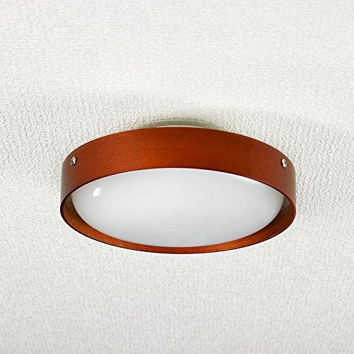 (まとめ買い)LED小型シーリングライト 木枠 昼光色相当 LCL-SWD1001(D) 〔×3〕【北海道・沖縄・離島配送不可】