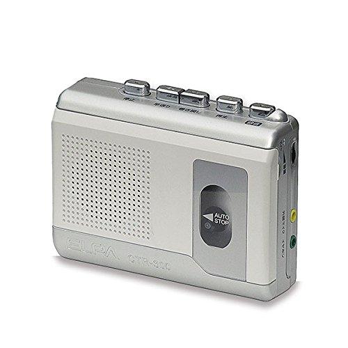 (まとめ買い)ELPA カセットテープレコーダー (録音・再生)エルパ CTR-300 〔×3〕【北海道・沖縄・離島配送不可】