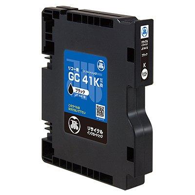 (まとめ買い)ジット JITインク GC41K対応 バルク品 JIT-R41B 00029551 〔3個セット〕
