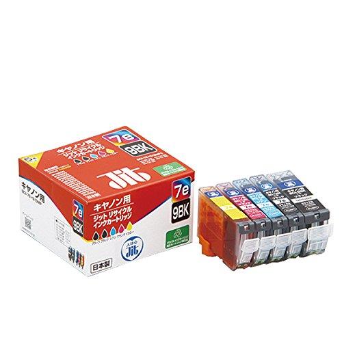 (まとめ買い)ジット JITBCI-7e4色+BCI-9BK JIT-C07E9B5P 00226528 〔3個セット〕
