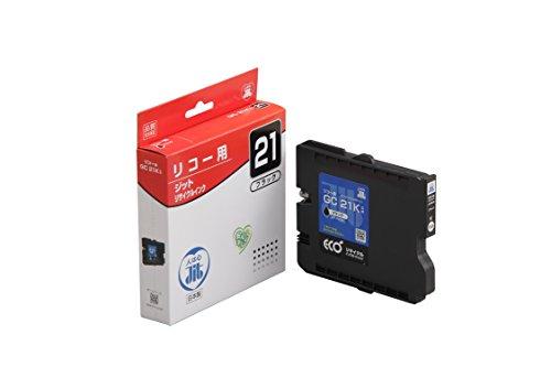 (まとめ買い)ジット JITインク GC21K対応 JIT-R21B 00212433 〔3個セット〕