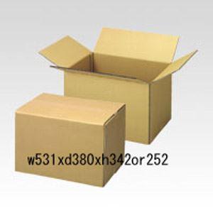 (まとめ買い)山田紙器 段ボールケース 30枚入 B3 00062094 〔×3〕【北海道・沖縄・離島配送不可】
