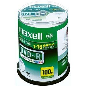(まとめ買い)マクセル データ用DVD-R 〔100枚入〕 DR47WPD.100SPA 00021444 〔×3〕