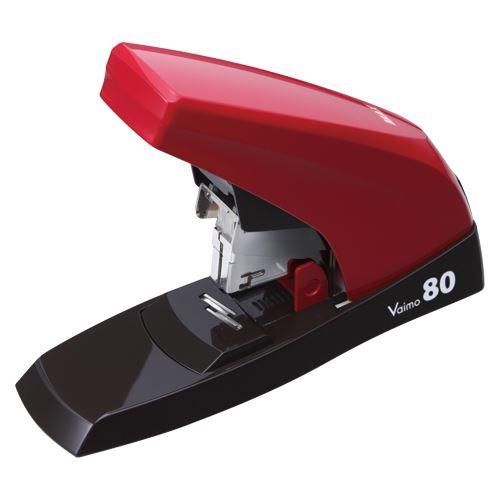(まとめ買い)マックス バイモ80スタイル レッド HD-11UFL/R 00002732 〔3個セット〕【北海道・沖縄・離島配送不可】