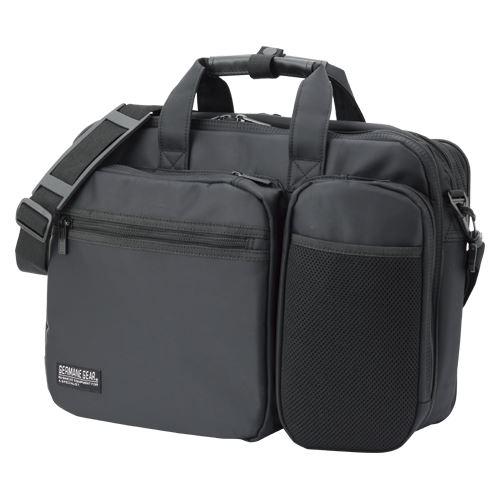 (まとめ買い)クラウン カジュアルビジネスバッグ CR-BB749-B 00024896 〔3個セット〕【北海道・沖縄・離島配送不可】
