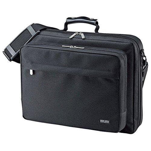 (まとめ買い)サンワサプライ PCキャリングバッグ BAG-U54BK2(549) 00028758 〔3個セット〕【北海道・沖縄・離島配送不可】