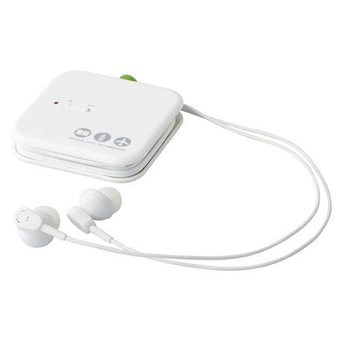 【送料無料】(まとめ買い)キングジム デジタル耳せん MM1000シロ 00025248 〔3個セット〕