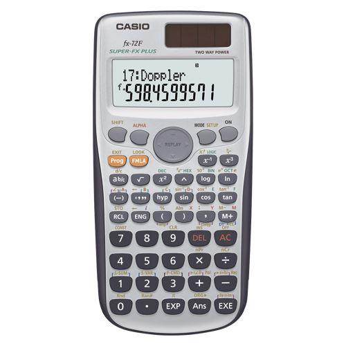 【送料無料】(まとめ買い)カシオ プログラム関数電卓 FX-72F-N 00024412 〔3台セット〕