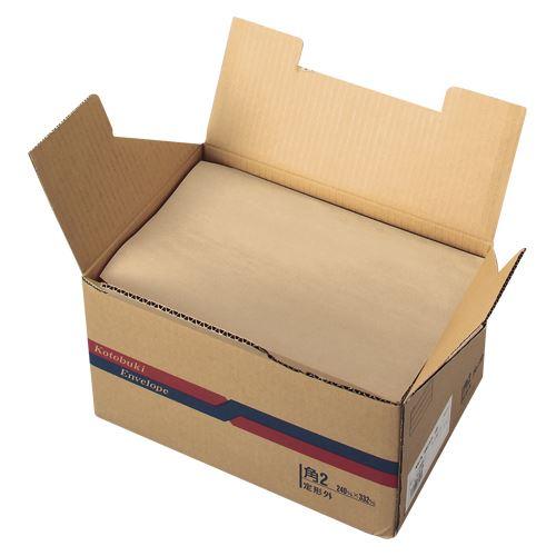 (まとめ買い)壽堂紙製品 角2未晒クラフト70g 500枚入り 10602 00005389 〔×3〕【北海道・沖縄・離島配送不可】