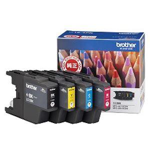 【送料無料】(まとめ買い)ブラザー インクカートリッジ4色入りパック LC12-4PK 00010886 〔×3〕