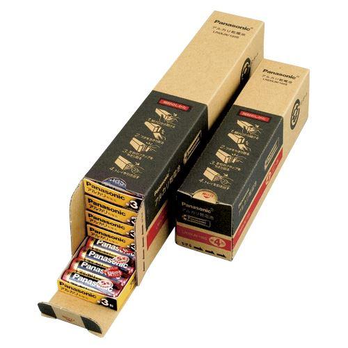 【送料無料】(まとめ買い)パナソニック アルカリ電池 単3 100個 オフィス LR6XJN/100S 00073817 〔×3〕