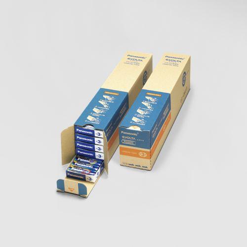 (まとめ買い)パナソニック EVOLTAアルカリ乾電池単3形100本 LR6EJN/100S 00026117 〔×3〕【北海道・沖縄・離島配送不可】