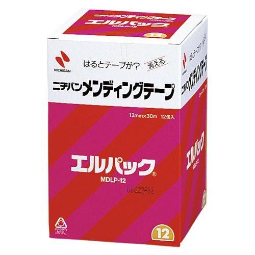 (まとめ買い)ニチバン メンディングテープ エルパック MDLP-12 00024570 〔×3〕【北海道・沖縄・離島配送不可】
