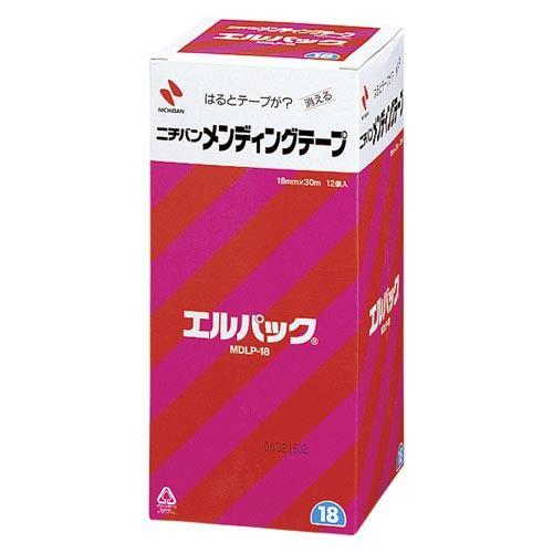 (まとめ買い)ニチバン メンディングテープ エルパック MDLP-18 00024571 〔×3〕【北海道・沖縄・離島配送不可】