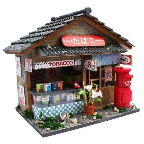 빌리 핸드메이드 인형 하우스 키트 쇼와 시리즈 키트 담배 장 수 8531