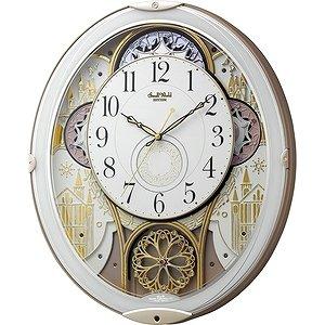 小世界 (节奏时钟) 装置的旋律收音机时钟小世界 Noel N 白色 4MN539RH03