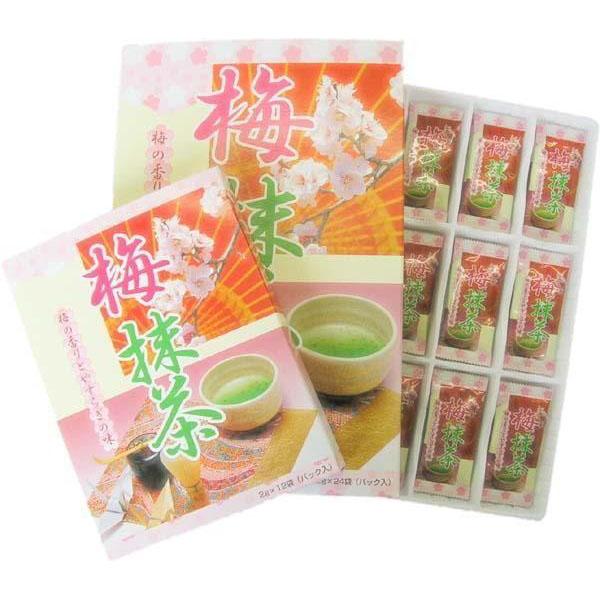 【送料無料】マン・ネン 梅抹茶(小) (2g×12袋入)×60個セット 0012104【代引不可】