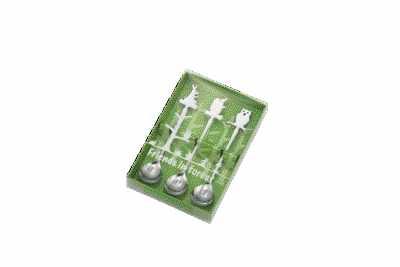 【送料無料】高桑金属 日本製 Japan モリノナカマタチ 3pscセット スプーン(ピューター) 005178 〔まとめ買い12個セット〕