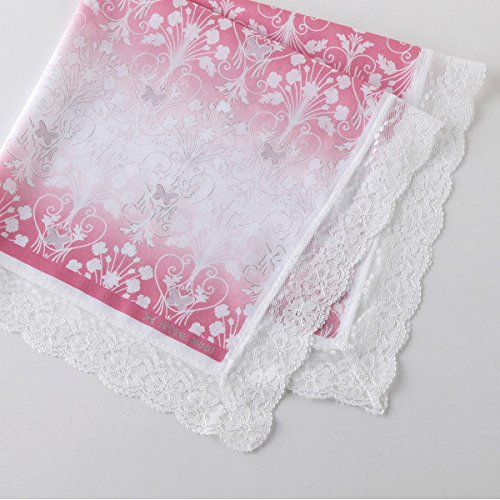 Rug pink 04311005A with Hanae Mori lace