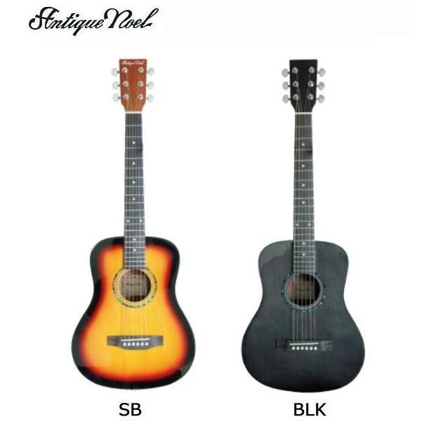ANTIQUE NOEL(复古的诺埃尔)吉他AM-0 BLK、黑色