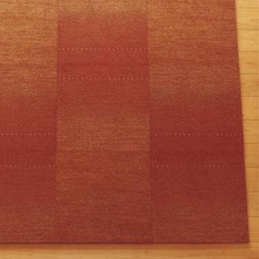 【送料無料】川島織物セルコン Unit Rug(ユニットラグ) ギャベ グラデーション 50×50cm 6枚入り UR1486・グリーン【代引不可】