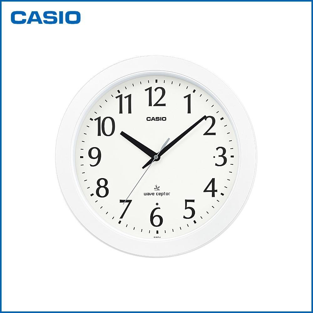 Fujix rakuten global market casio casio wall hangings clock casio casio wall hangings clock analog iq 900flj 7jf radio time signal shin amipublicfo Gallery