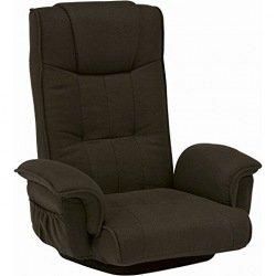【送料無料】萩原 回転座椅子 LZ-4272BR 〔まとめ買い2台セット〕【代引不可】