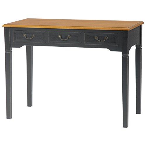 【送料無料】机 テーブル デスク リビング 収納 家具 BROCANTE デスク MT-5325BK【代引不可】