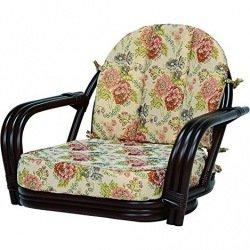 【送料無料】萩原 回転座椅子 RZ-931DBR【代引不可】