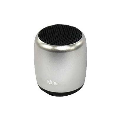 Gourmandise MUNE Bluetooth wireless speaker silver MUNE-07SL