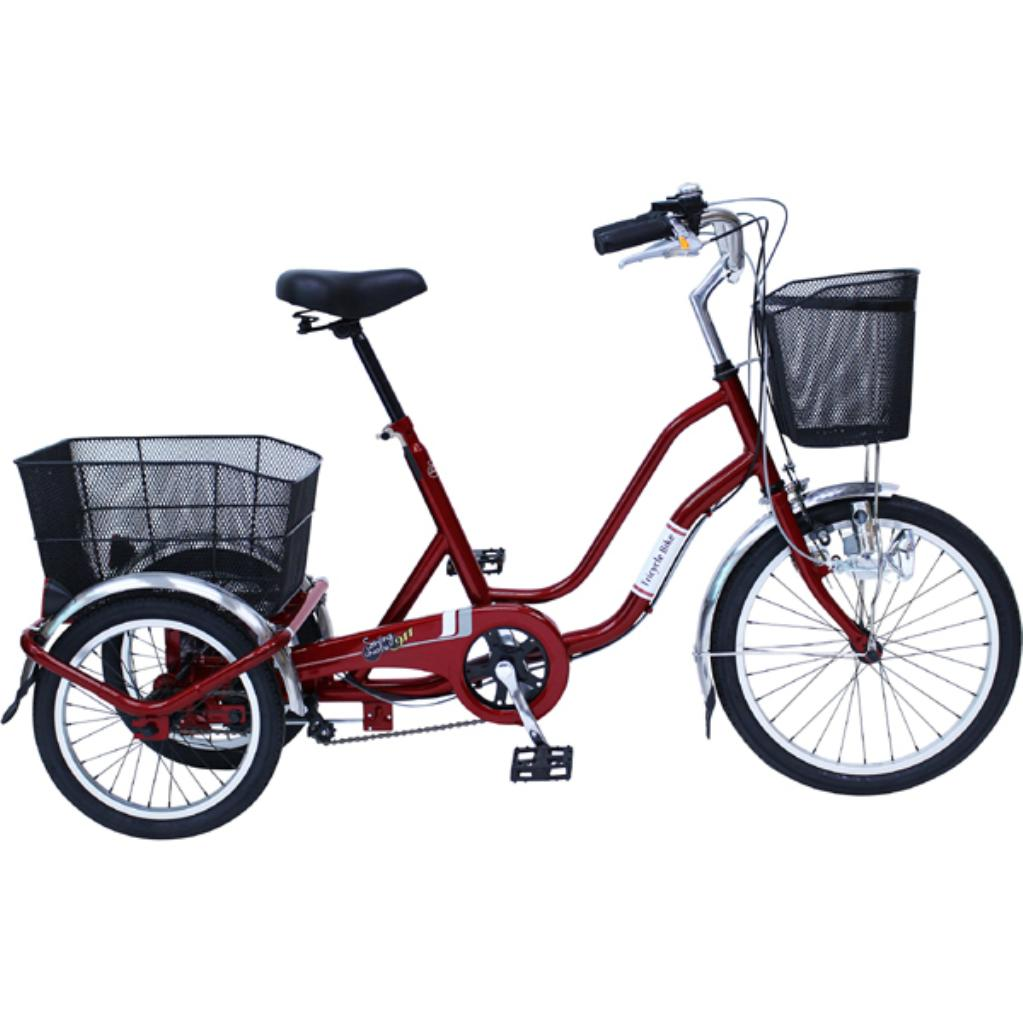 【送料無料】MG-TRW20NE MIMUGO SWING CHARLIE 前輪20×後輪16インチ ノーパンク三輪自転車【代引不可】