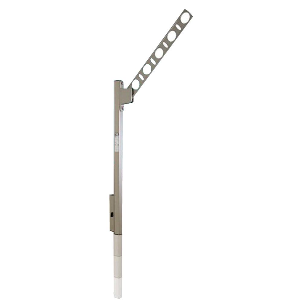 DRY・WAVE 腰壁用可動式物干金物 SFK-P シルバー