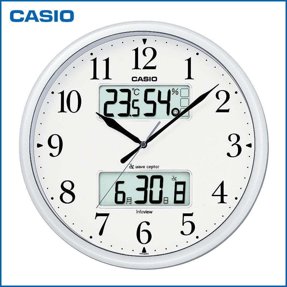 Fujix rakuten global market casio casio wall hangings clock casio casio wall hangings clock living environment news itm 660nj 8jf amipublicfo Gallery