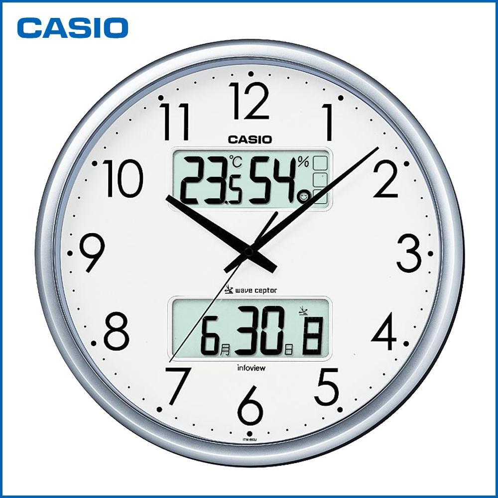 Fujix rakuten global market casio casio wall hangings clock casio casio wall hangings clock living environment news itm 650j 8jf amipublicfo Gallery