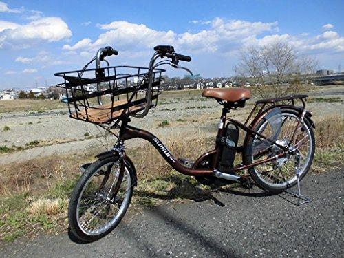 夏セール開催中 MAX80%OFF! 【送料無料 |】SUISUI 低床電動アシスト自転車 | KH-DCY07 KH-DCY07 ビッグバスケットタイプ BR(ブラウン)【代引不可】, 詫間町:5d032355 --- wktrebaseleghe.com