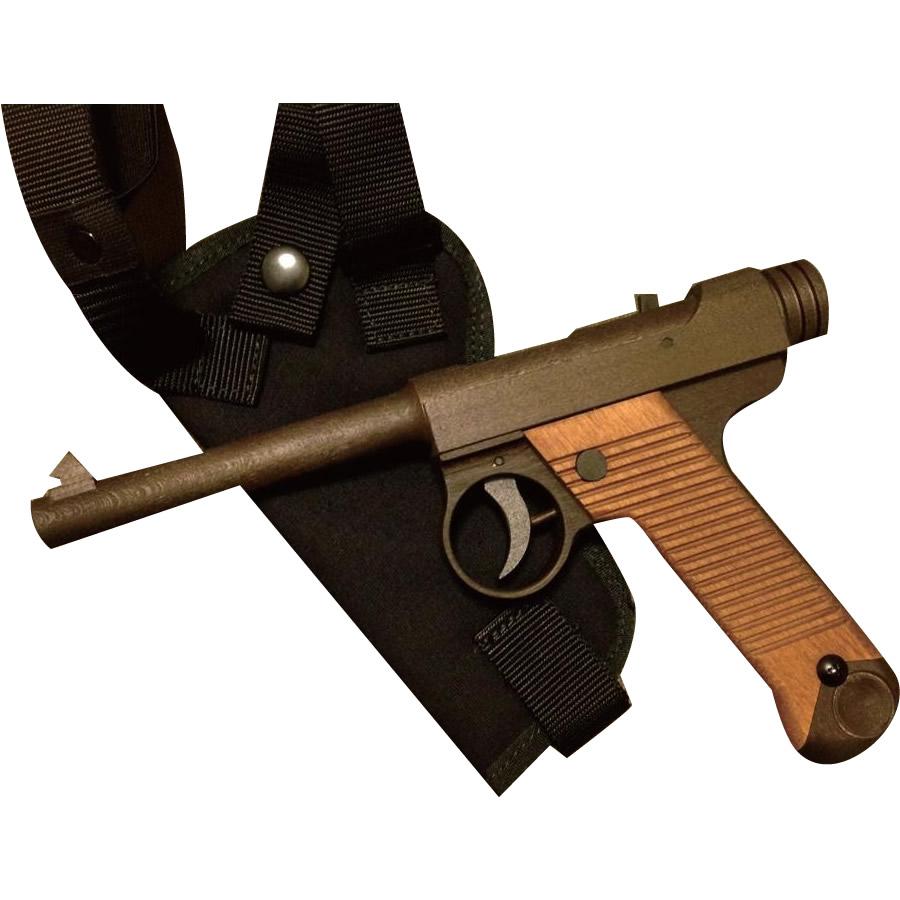 【送料無料】南部14年式拳銃型 ゴム鉄砲
