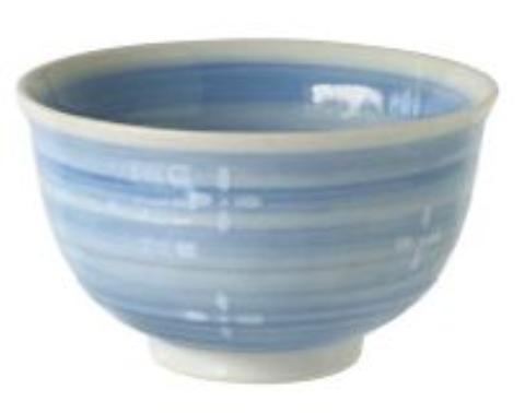 【送料無料】リビング 小花 茶碗 ブルー 〔まとめ買い120個セット〕【代引不可】