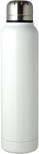 【送料無料】リビング CLAP スリムマグボトル 350ml ホワイト 〔まとめ買い24個セット〕【代引不可】