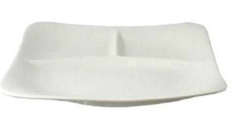 リビング 梨地 プレーンランチ皿 22.3cm 〔まとめ買い24個セット〕【代引不可】