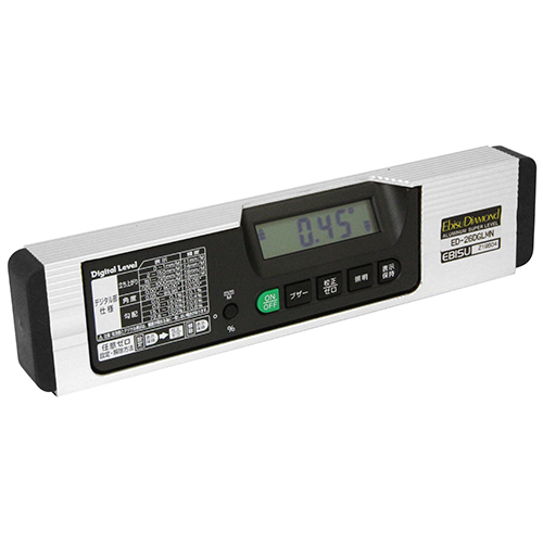 【送料無料】エビス 磁石付デジタルレベル ED-26DGLMN【代引不可】